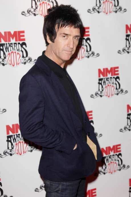 Johnny Marr en la pasada entrega de los NME Music Awards