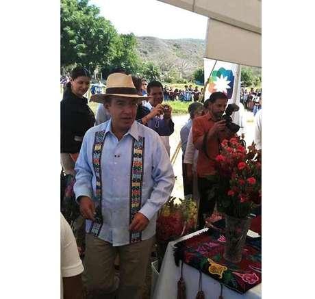 El presidente Calderón realiza este jueves una gira de trabajo por Chiapas.