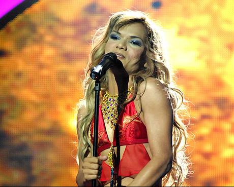 Shakiro pasó a la semifinal de 'Colombia tiene talento'.