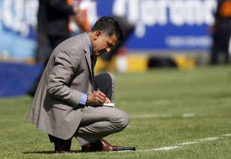 Juan Carlos Osorio, técnico de Nacional.