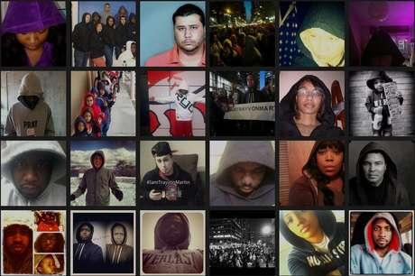 """La muerte de Trayvon Martin, el joven de 17 años que fue asesinado por un vigilador voluntario, quien creyó que Trayvon era una amenaza por tener su capucha puesta, además de ser afroamericano, desató una ola de protestas. En internet, la gente muestra su apoyo usando sus capuchas y acompañando la foto con la frase: """"¿Parezco sospechoso?""""."""