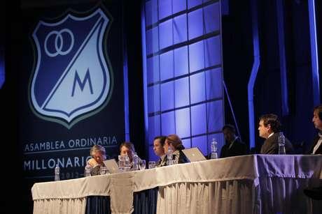 Millonarios presentó a sus accionistas el estado financiero del club.