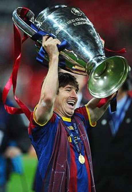 <p>Messi y el Barcelona han marcado el ritmo del mundo en el futbol en la última era, su más reciente título es el de la temporada 2010-11</p>