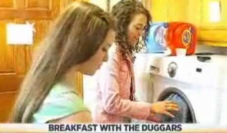 La familia Duggar hace 35 lavados de ropa por semana.