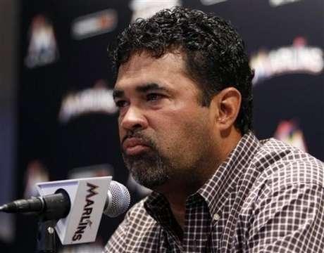 Ozzie Guillén, entrenador de los Marlins de la Florida