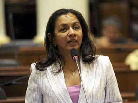 Vicepresidenta de la República, Marisol Espinoza.