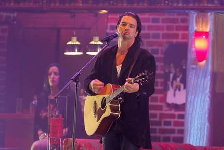 Anoche, ante 15 mil personas,  Ricardo Arjona ofreció el primero de los cuatro conciertos que dará en Chile