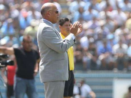 Roberto Mosquera, técnico de Sporting Cristal.