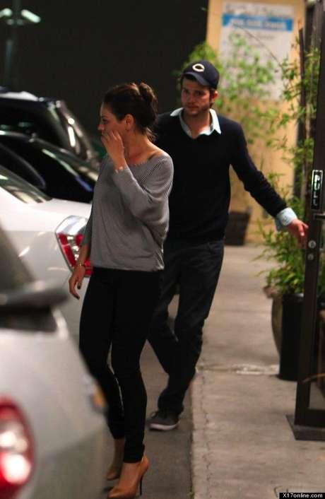 Ashton Kutcher y Mila Kunis