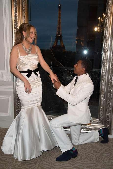 Mariah Carey y Nick Cannon renovaron votos en París
