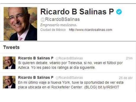 Mensaje de Ricardo Salinas Pliego