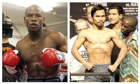 Floyd Mayweather Jr y Manny Pacquiao no quieren enfrentarse en un cuadrilátero