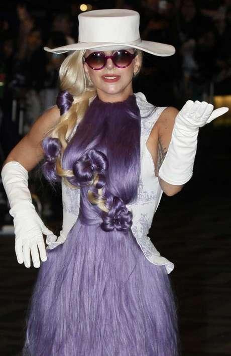 A pesar del incidente la cantante mostró su profesionalismo.