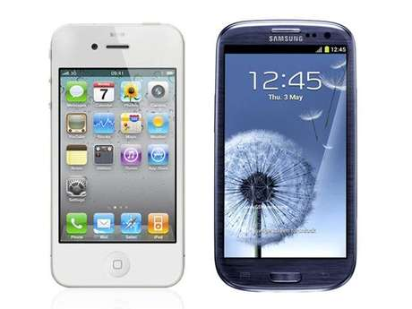 iPhone 4S vs Galaxy SIII