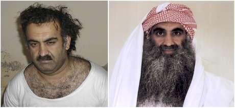 Los cinco acusados por los ataques que causaron cerca de 3,000 muertos el 11 de septiembre de 2001 en New York, Washington DC y Pennsylvania, comenzarán a ser juzgados este sábado en la base de Guantánamo, Cuba, por ser los ejecutores del maléfico plan impulsado por Osama bin Laden. En la foto, aparece el 'cerebro' del ataque, Jhalid Sheij Mohammed, junto a a otros de los procesados.