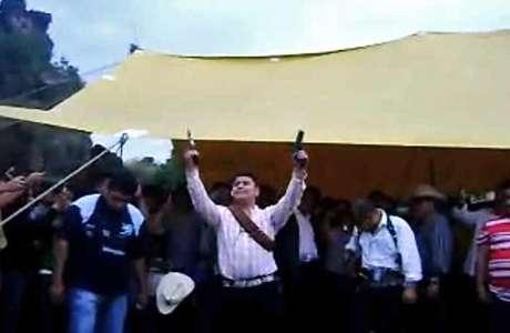 Disparar durante festividades como las del Pueblo de Santa María Aztahuacán, no está tipificado en el Código Penal.