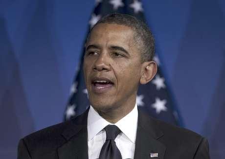 En esta foto del 8 de mayo de 2012, el presidente Barack Obama habla en Washington. El miércoles 9, Obama dijo que está a favor de los matrimonios gay