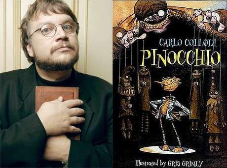 Del Toro prepara un personaje diferente de Pinocho.