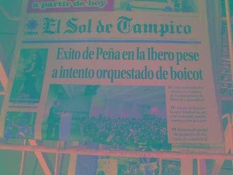 Tuiteros han difundido imágenes de las primeras planas de los diarios pertencientes a la OEM en la que resaltan los titulares de éstos.