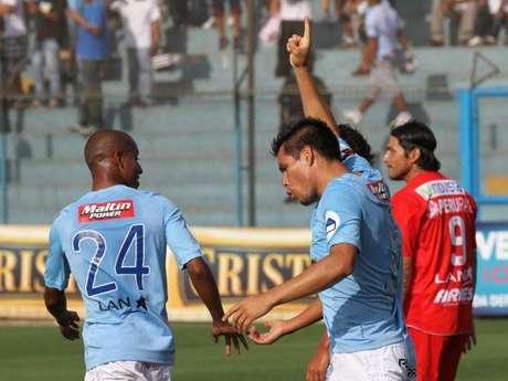 Rengifo marcó su octavo gol en el torneo.
