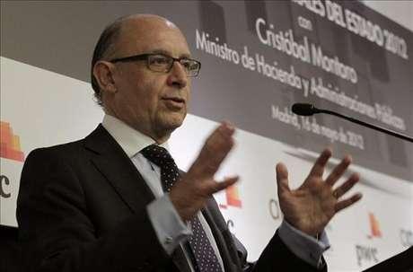 El ministro Cristóbal Montoro (Agencia: EFE)