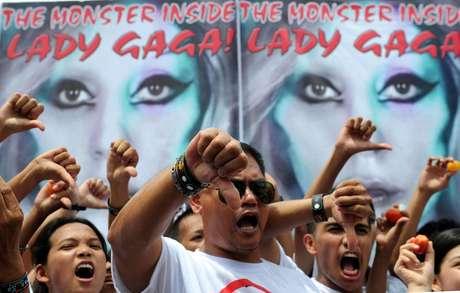 Nuevas manifestaciones en contra del concierto de Lady Gaga en Filipinas