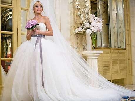 Alguns vestidos de noivas da ficção são inspiradores na hora de trocar as alianças