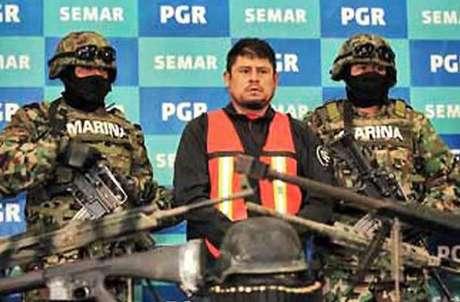 """""""El Lucky"""", detenido en diciembre, calcula que Los Zetas vendían un promedio de 100 kilos de cocaína al mes en Veracruz, 40 de ellos en el puerto."""