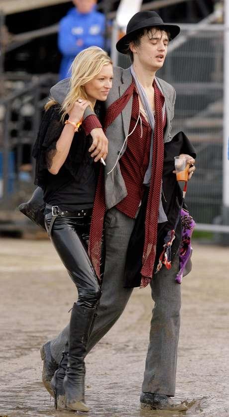 Pete Doherty y Kate Moss una relación confilctiva