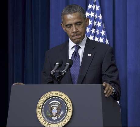 Barack Obama durante un discurso en el edificio Eisenhower de la Casa Blanca en Washington el miércoles 30 de mayo de 2012.