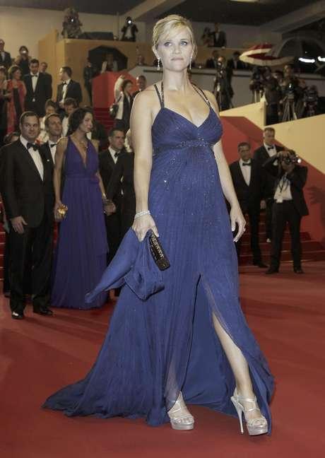 """La actriz Reese Witherspoon tras el estreno de la película """"Mud"""" en el 65to Festival de Cine de Cannes en Francia, el domingo 26 de mayo de 2012."""