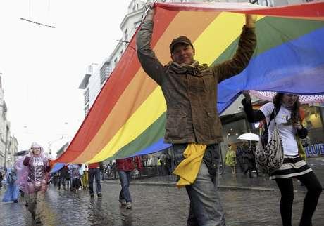 La marcha del orgullo gay tiene lugar cada año en Bogotá a finales de junio