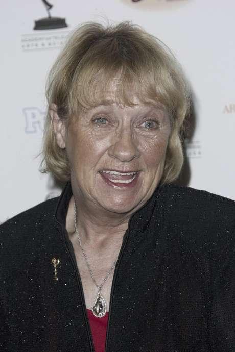 """La actriz Kathryn Joosten llega a una fiesta para los nominados a los premios Grammy en Los Angeles el 19 de septiembre de 2008. La actriz que interpretó a la señora Karen McCluskey en """"Esposas Desesperadas"""" murió el sábado 2 de junio de 2012. Tenía 72 años."""