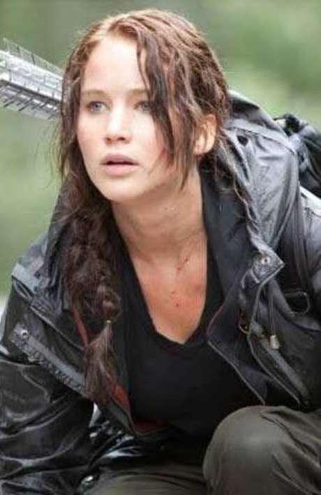 """Jennifer Lawrence en """"Los juegos del hambre""""."""