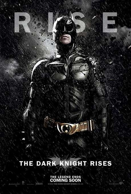 Póster 'The Dark Knight Rises'.