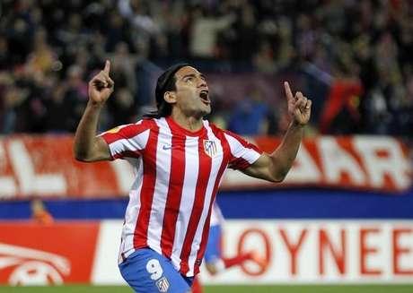 Falcao fue figura con el Atlético de Madrid en la temporada 2011-2012