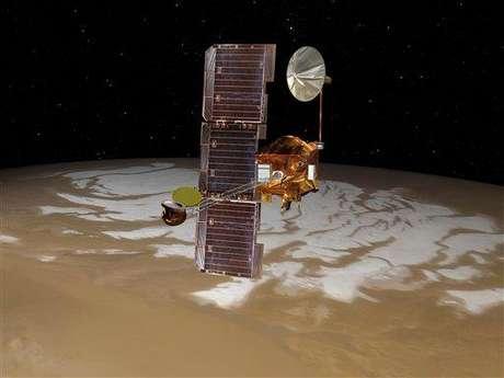 La sonda Mars Odyssey, en problemas.