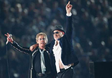 Roger Daltrey (izquierda) y Pete Townshend, de The Who.