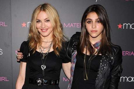 Madonna y Lourdes su hija
