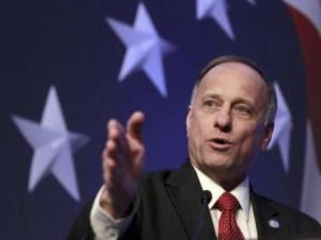 Rep. Steve King, R-Iowa addresses the Conservative Political Action Conference in Washington.