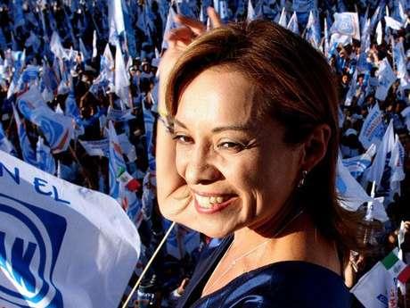 Josefina Vázquez Mota, candidata del PAN a la presidencia de México.