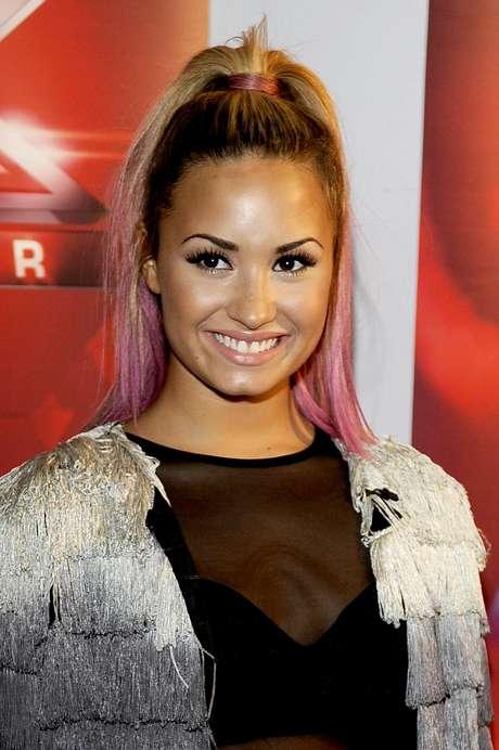 """Demi Lovato asegura que se realizó los tatujes por un """"Impulso de momento""""."""