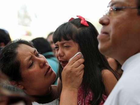 Una familia de deportados llega a la Ciudad de México.