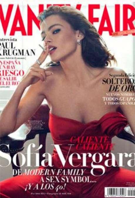 """Sofía Vergara en la portada de """"Vanity Fair""""."""
