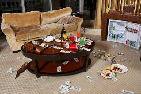 El estudio realizado por la universidad de Houston investigó las bacterias que se encuentran en diversas superficies dentro de un cuarto de hotel y los resultados fueron sorprendentes (y asquerosos).