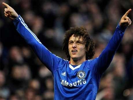 El jugador del Chelsea, David Luiz.