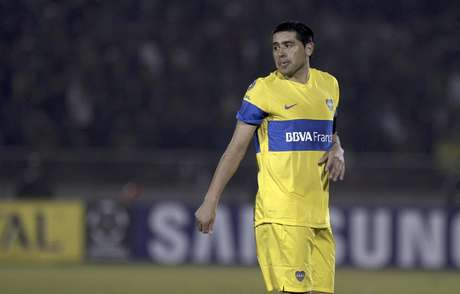 Juan Roman Riquelme hopes to win his second Copa Libertadores title in 2012.