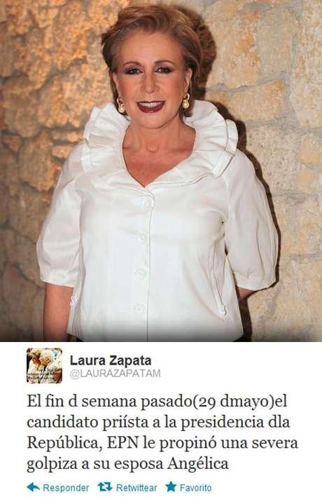 La actriz sostiene que Televisa envió un regalo especial a Rivera para que regresara con Nieto.