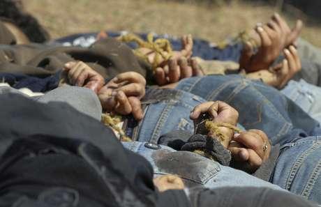 Prueba de su fuerza sanguinaria es la masacre ocurrida en abril pasado en Nuevo Laredo, Tamaulipas, en donde los cuerpos desmembrados de 14 presuntos integrantes de un grupo delictivo fueron arrojados frente a la presidente municipal de esa ciudad fronteriza.