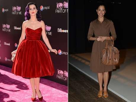 Seja em um evento formal ou informal as celebridades apostam em vestidos para compôr um loo, que pode ir de elegante a ousado
